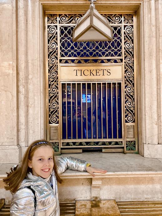 Grand Central Station Ticket desk